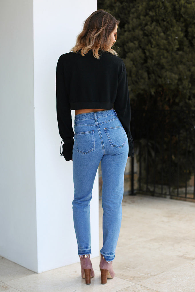 Bad Habit Mom Jean - Classic Blue - HER Empire Fashion Boutique Terrigal & Online