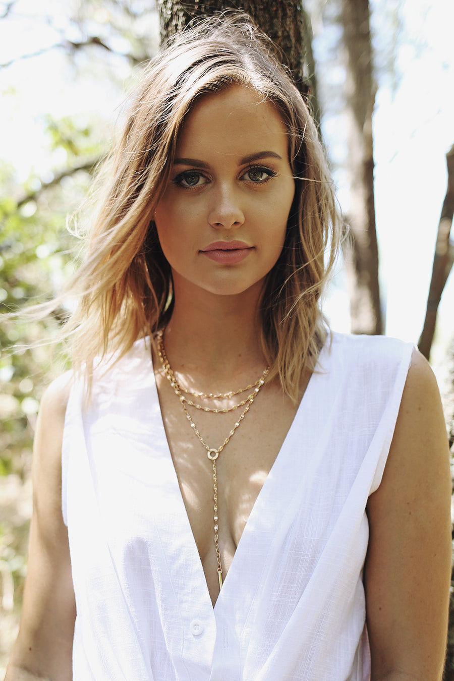 Bojana Necklace in Gold - HER Empire Fashion Boutique Terrigal & Online
