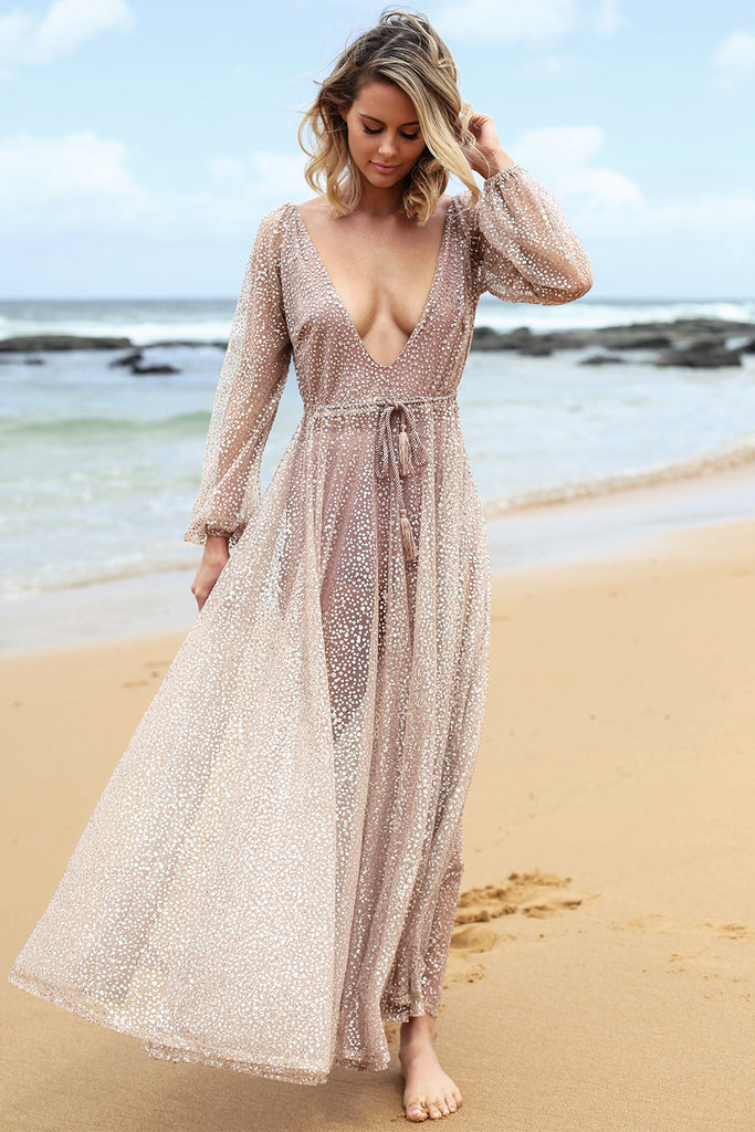 97be3af3 Nala Glitter Gown | Her Empire Boutique Sydney & Online Store