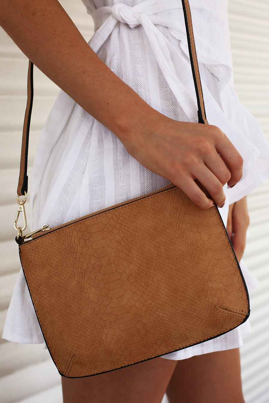 Brooklyn Bag in Caramel
