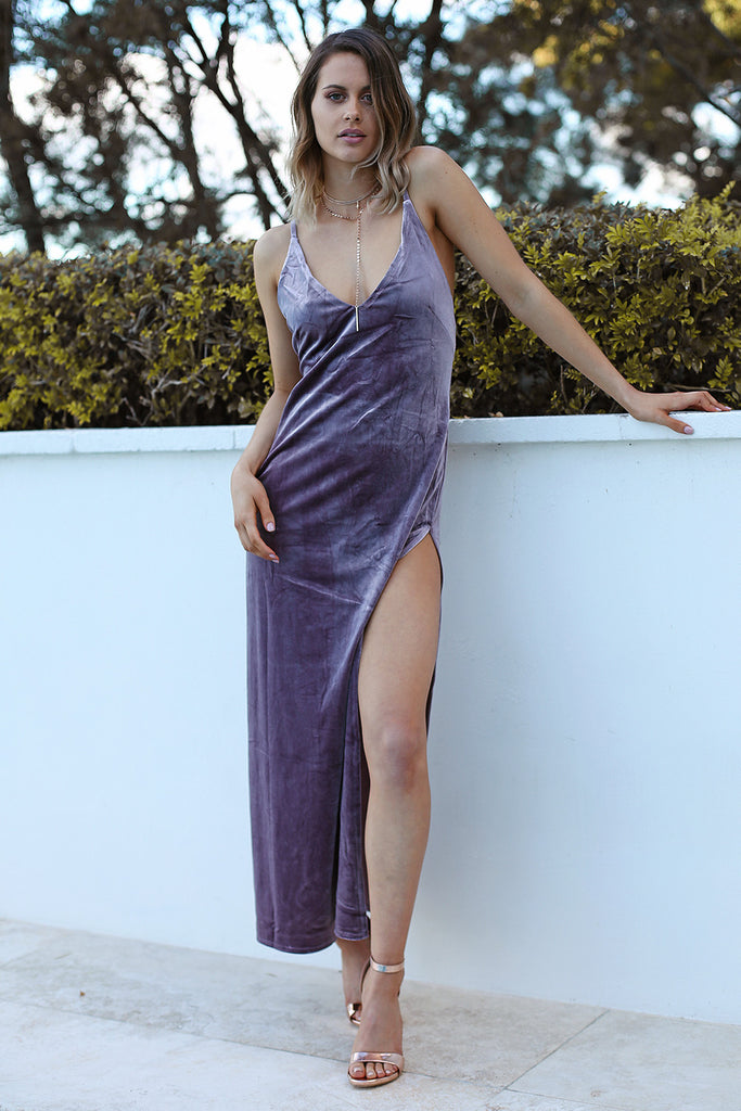 Don't Be Jealous Velvet Maxi - HER Empire Fashion Boutique Terrigal & Online
