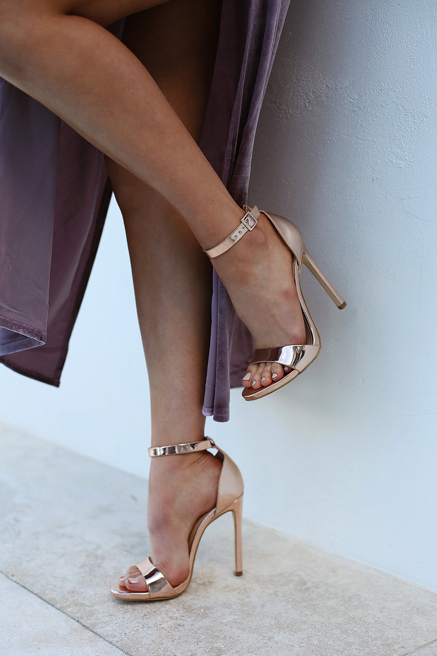 Tahki Rose Metallic Heel by Verali - HER Empire Fashion Boutique Terrigal & Online