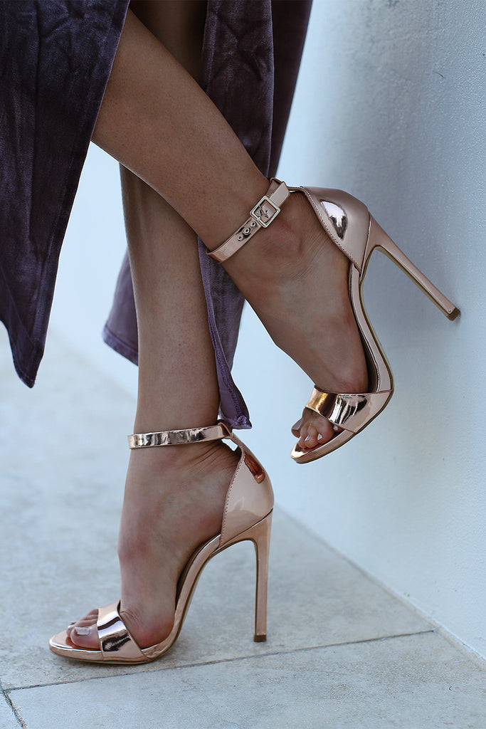 Tahki Rose Metallic Heel by Verali