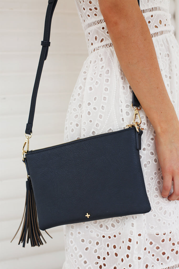 Kourtney Clutch in Navy for $49.95