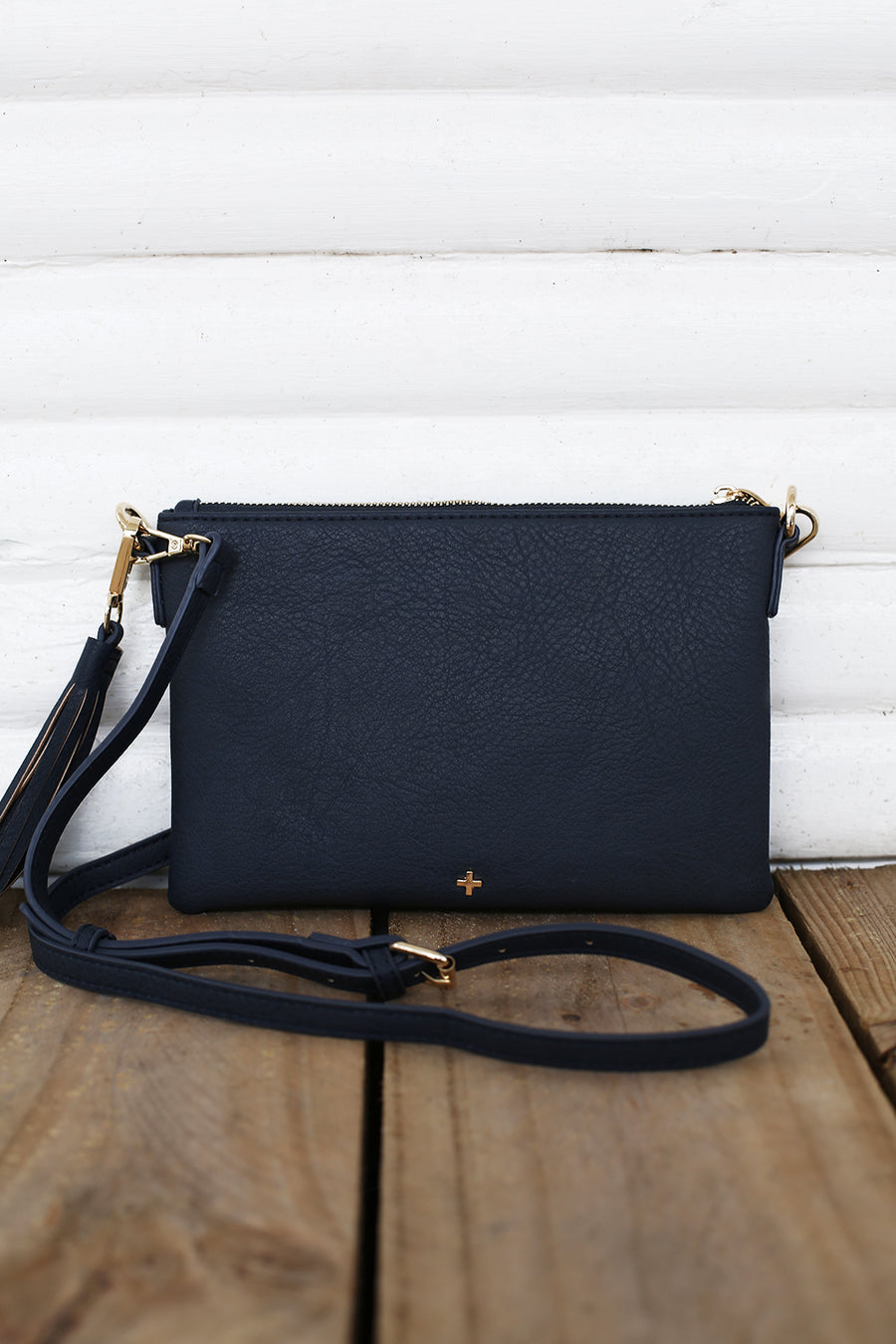 Kourtney Clutch in Navy - HER Empire Fashion Boutique Terrigal & Online