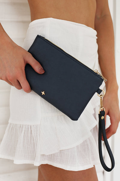 Bella Clutch in Navy - HER Empire Fashion Boutique Terrigal & Online