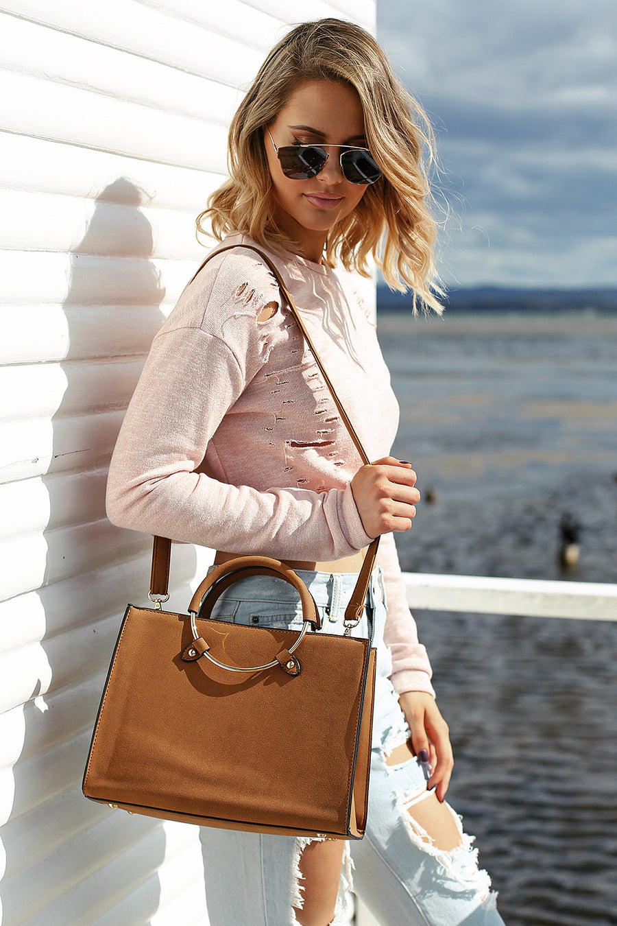 Berkley Bag in Caramel
