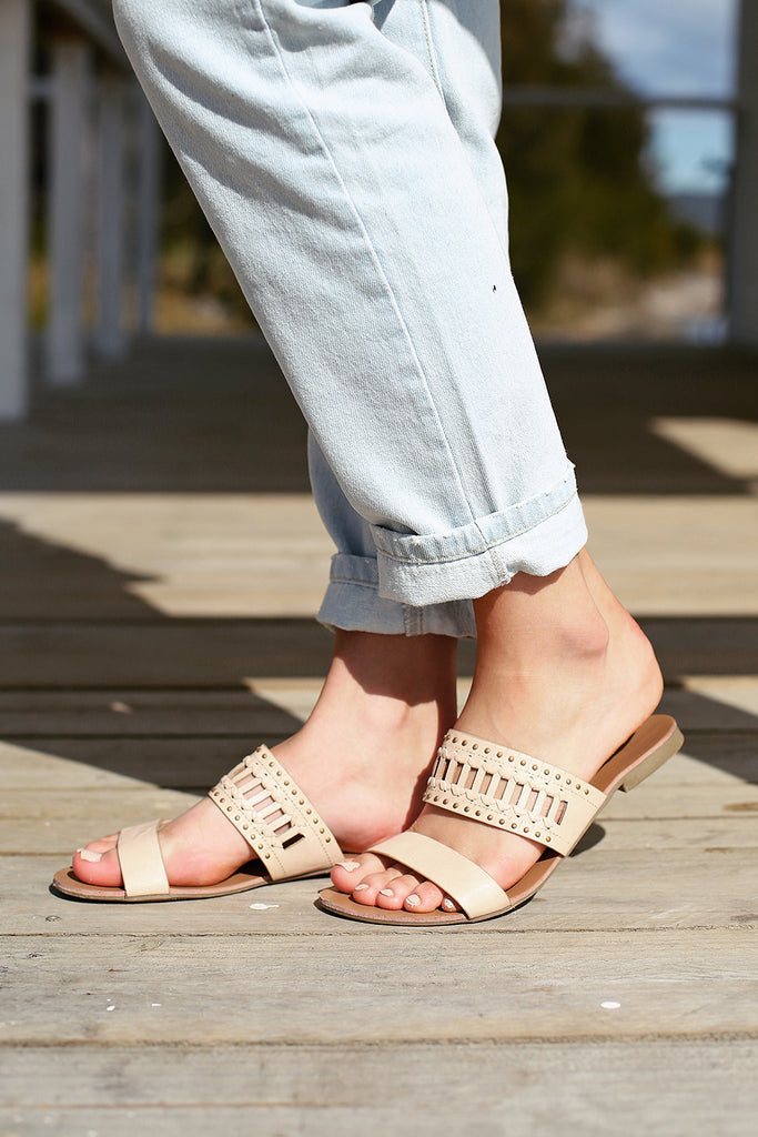 Bali Sandals - Nude - By Verali - HER Empire Fashion Boutique Terrigal & Online