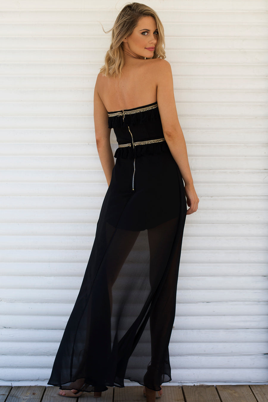 Midnight Maxi Playsuit