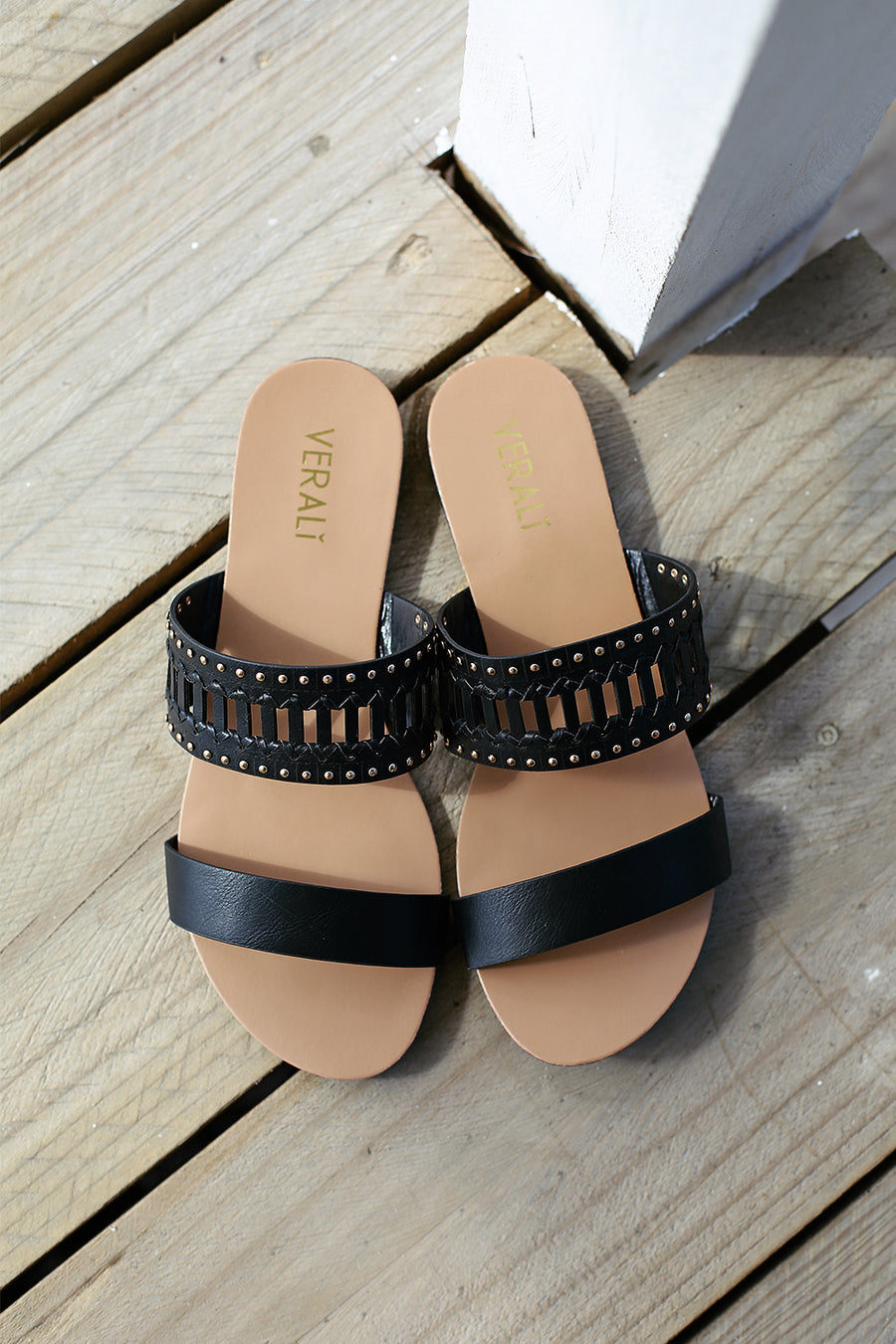 Bali Sandals - Black - By Verali - HER Empire Fashion Boutique Terrigal & Online