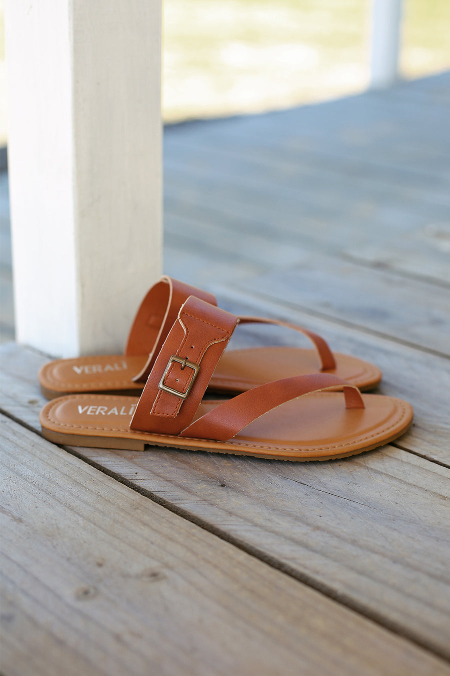 Shani Sandal - Tan - By Verali - HER Empire Fashion Boutique Terrigal & Online