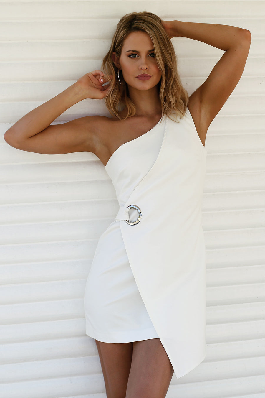 What You Want Dress in White
