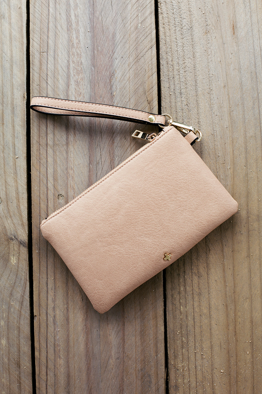Bella Clutch in Nude