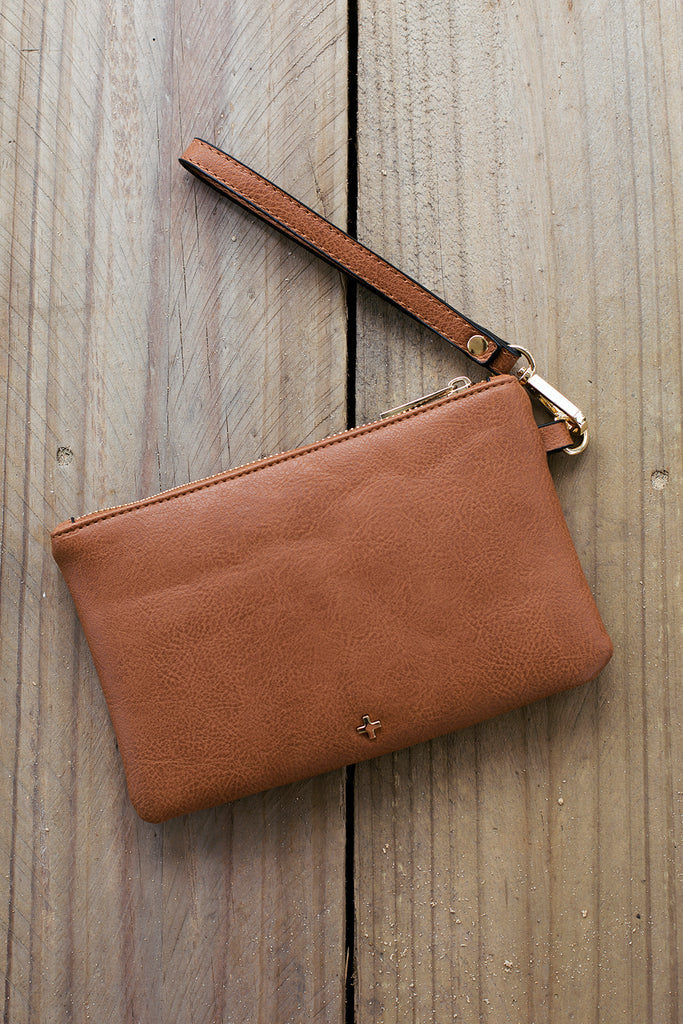Bella Clutch in Tan for $39.95