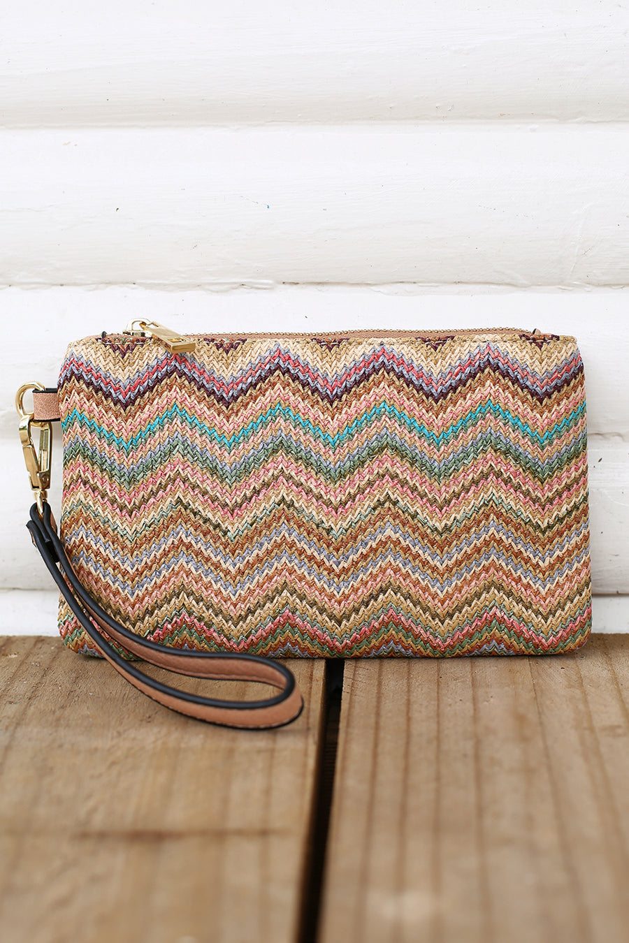 Bella Clutch in Nude Multi - HER Empire Fashion Boutique Terrigal & Online