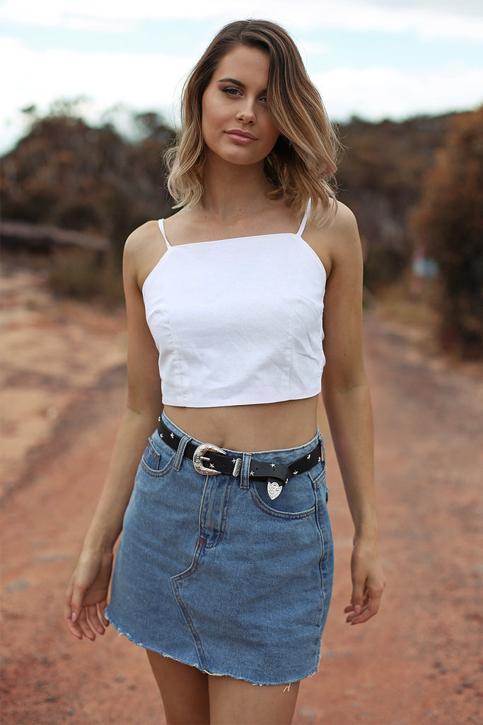 Treat You Right Crop - HER Empire Fashion Boutique Terrigal & Online