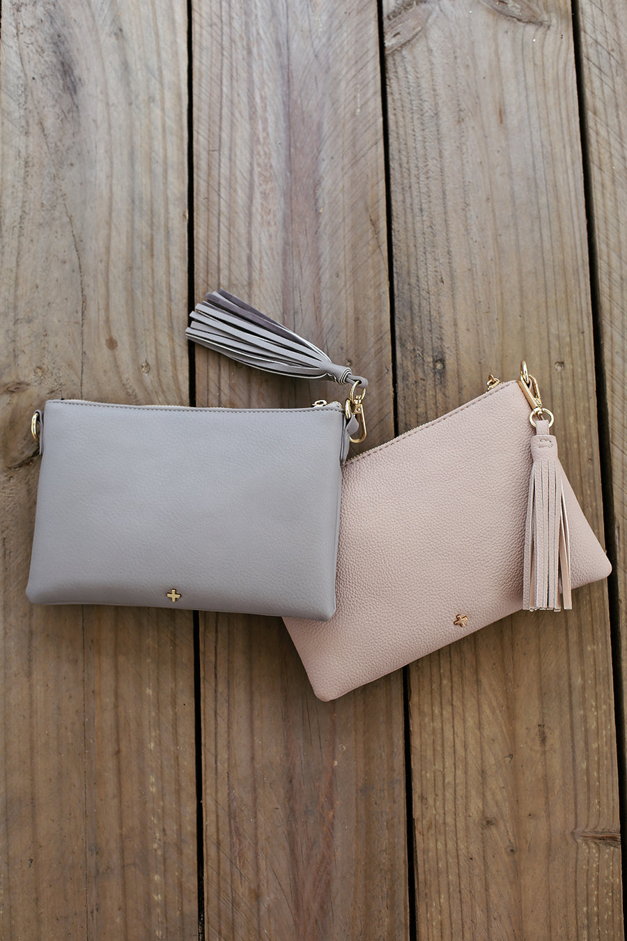 Kourtney Clutch in Nude - HER Empire Fashion Boutique Terrigal & Online