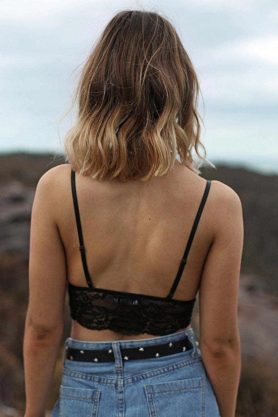 21 Lies Lace Bralette in Black - HER Empire Fashion Boutique Terrigal & Online