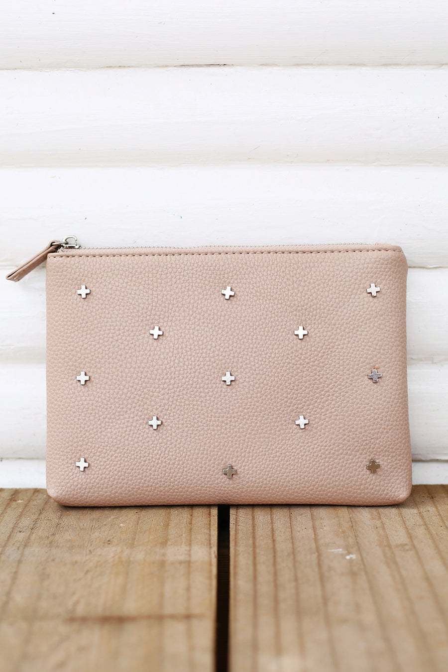 Kendall Clutch in Nude - HER Empire Fashion Boutique Terrigal & Online