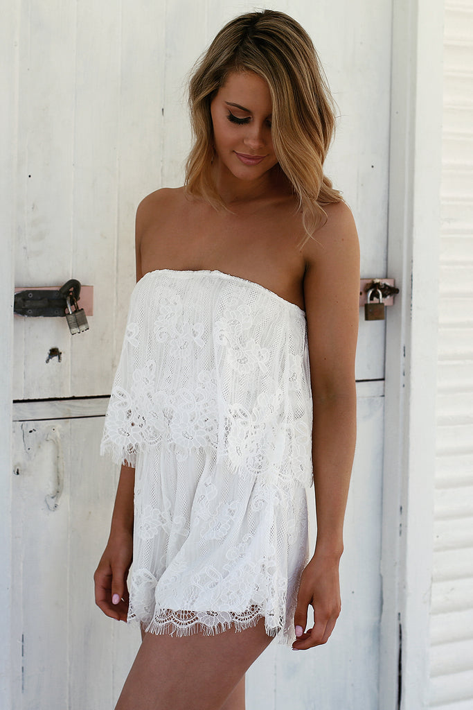 Lace Beauty Playsuit