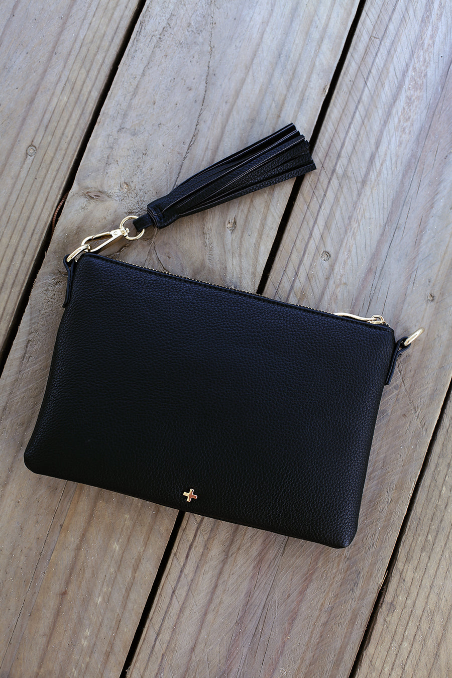 Kourtney Clutch in Black - HER Empire Fashion Boutique Terrigal & Online