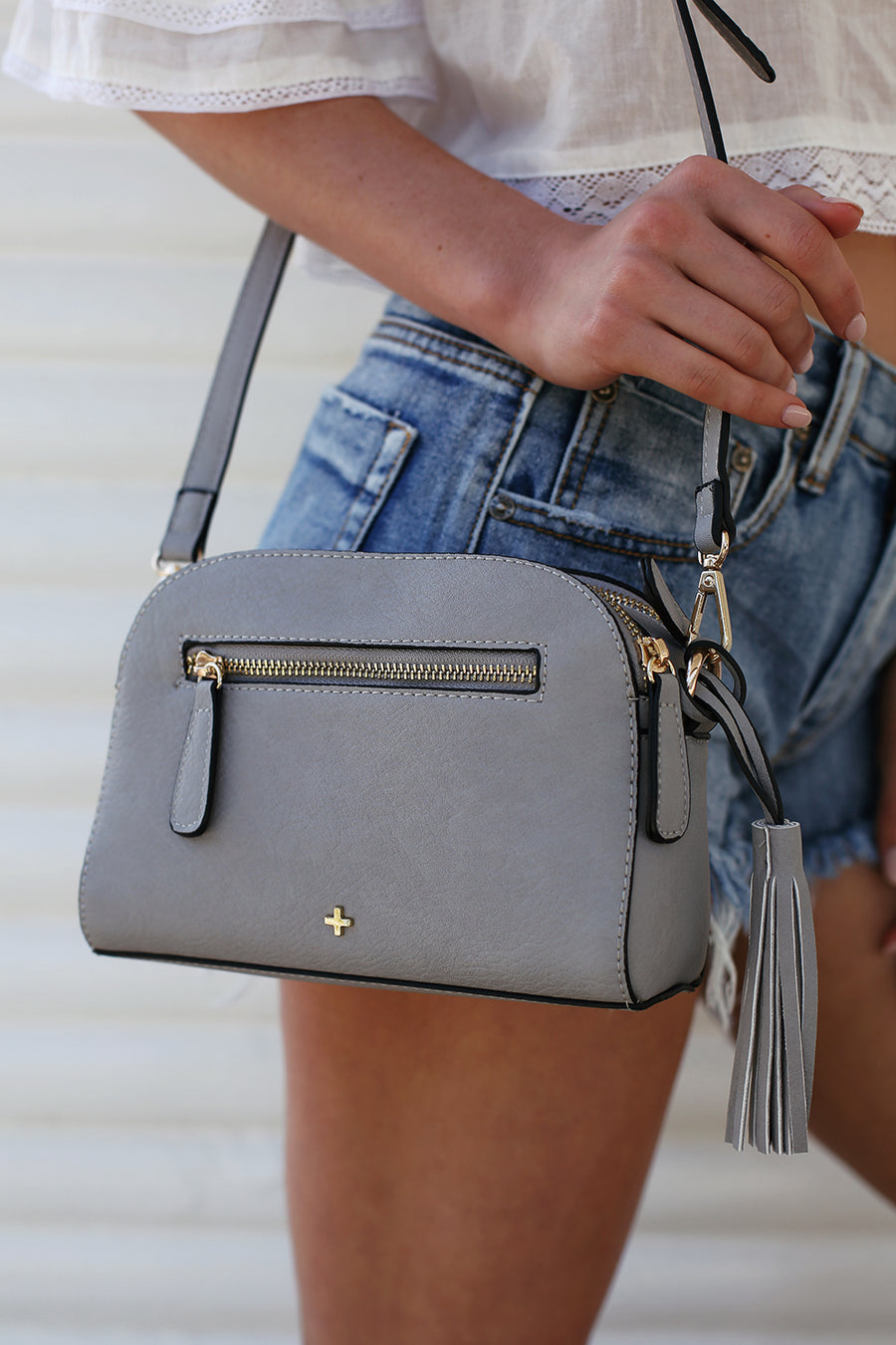 Gigi Bag in Grey