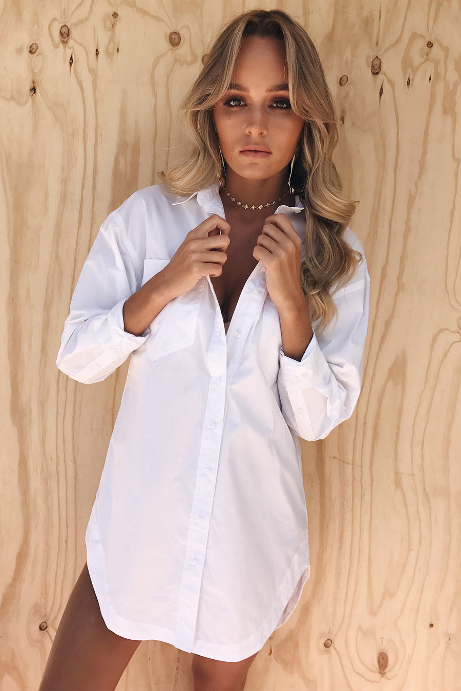 Abby Shirt Dress