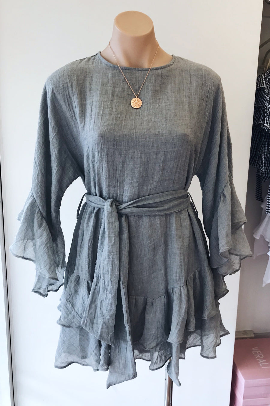 Willow Dress in Grey
