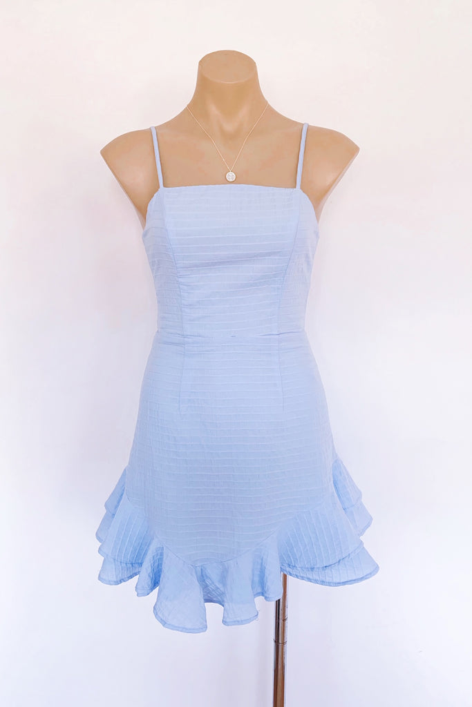 Connie Dress in Blue - HER Empire Fashion Boutique Terrigal & Online