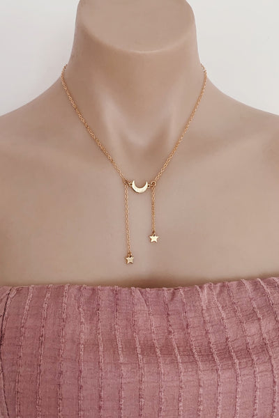 Kalisi Necklace in Gold - HER Empire Fashion Boutique Terrigal & Online