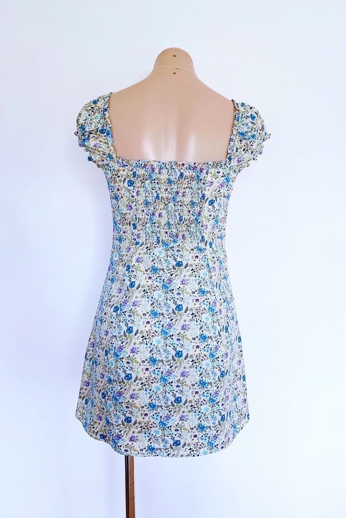 Georgie Dress in Blue for $75.00