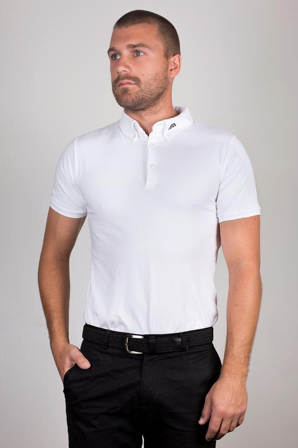 ACES Original Frost White Polo Shirt - HER Empire Fashion Boutique Terrigal & Online