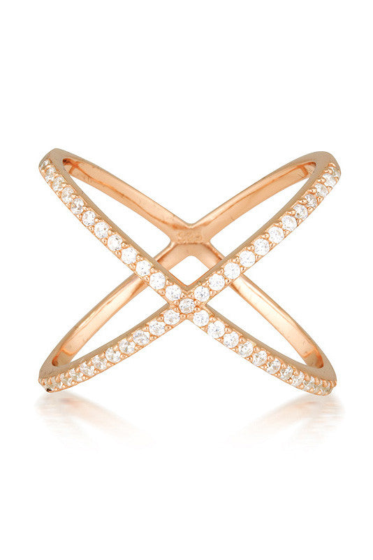 Ava Ring Rose Gold 'Limited Edition' - HER Empire Fashion Boutique Terrigal & Online