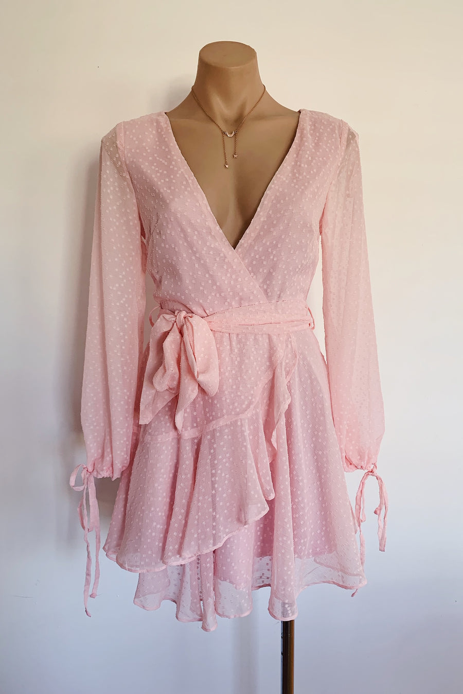 Sky high dress in Pink for $85.00