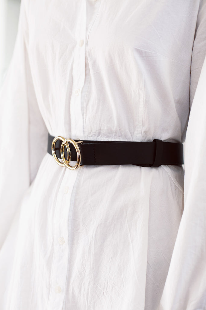 Olivia Belt in Black