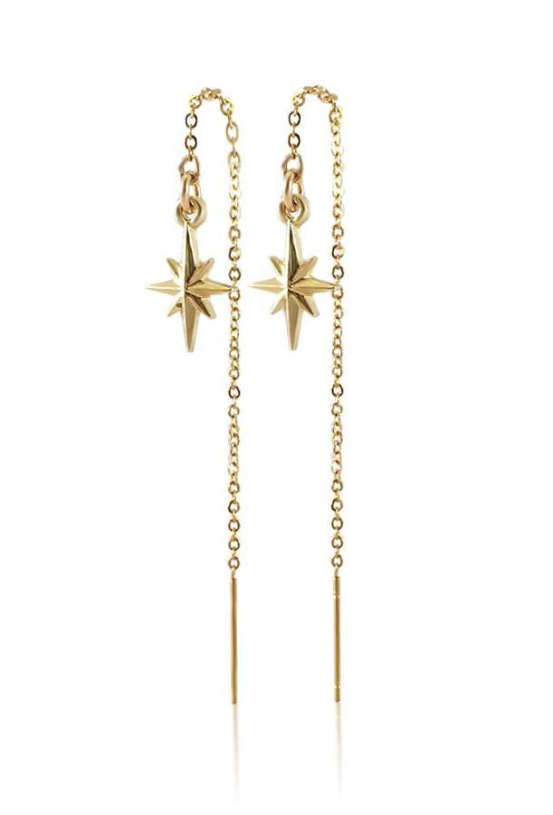 Cadence Pull Through Chain Earrings - HER Empire Fashion Boutique Terrigal & Online