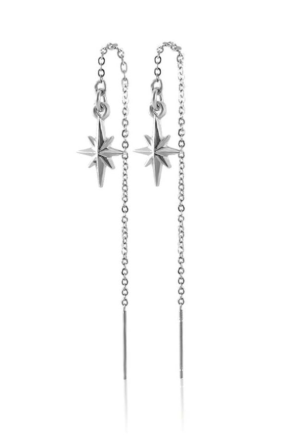 Cadence Pull Through Chain Earrings for $22.00