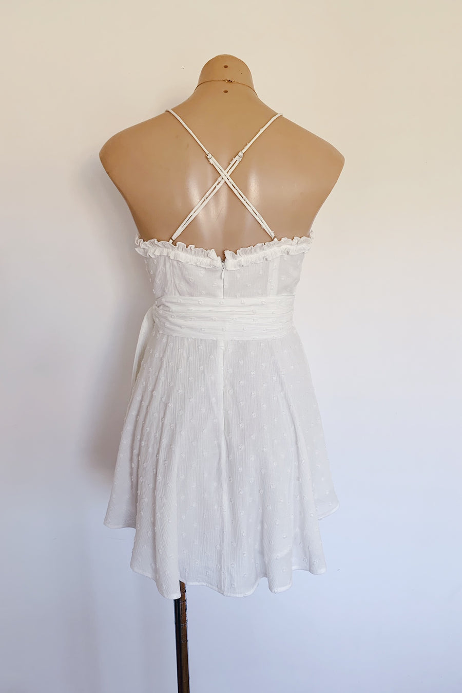 Coco Dress in White - HER Empire Fashion Boutique Terrigal & Online