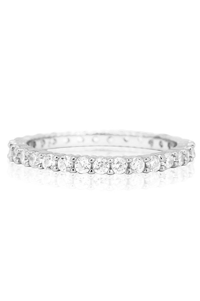 Elle Ring in Silver - HER Empire Fashion Boutique Terrigal & Online