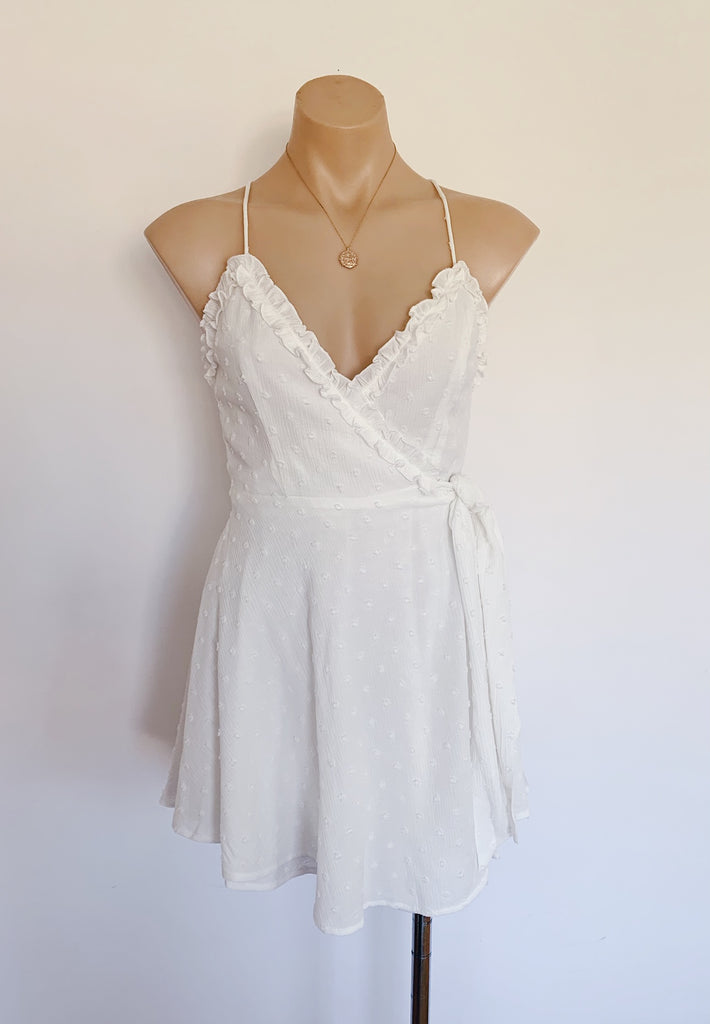Coco Dress in White for $75.00