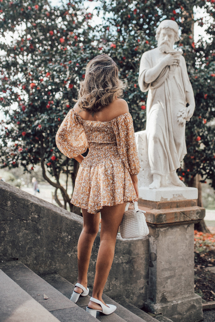 Golden Hour Playsuit - HER Empire Fashion Boutique Terrigal & Online