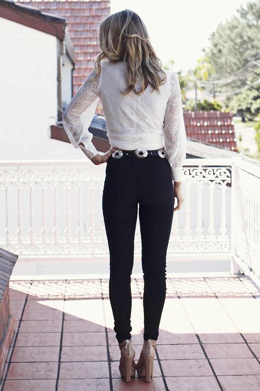 Got Me Torn Jeans in Black - HER Empire Fashion Boutique Terrigal & Online