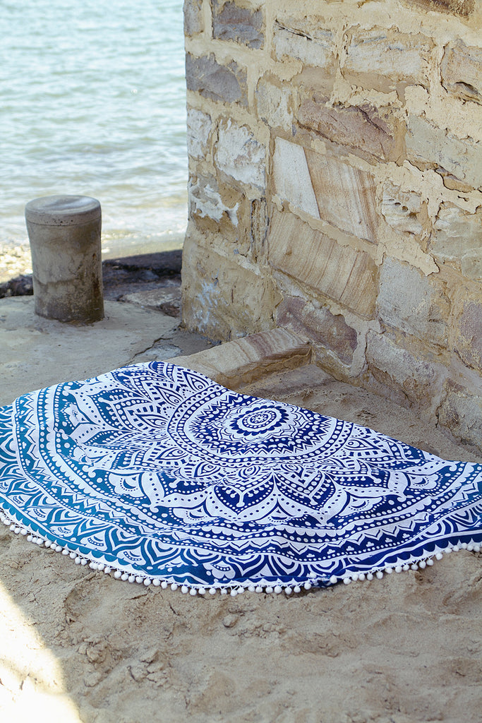 Kiss The Sky Roundie Mandala Throw - HER Empire Fashion Boutique Terrigal & Online