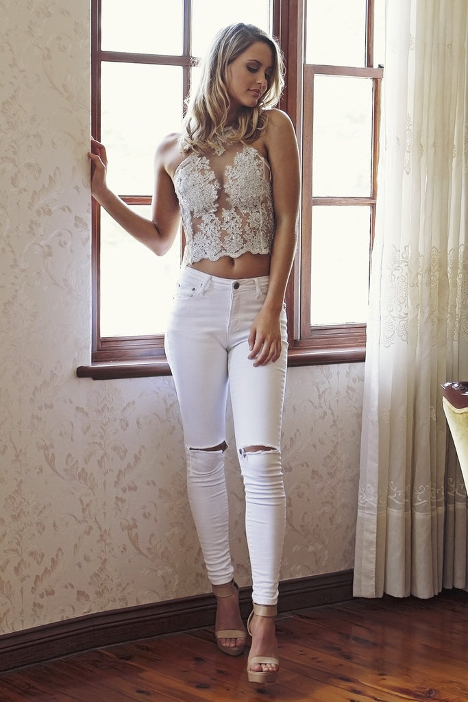 Got Me Torn Jeans - HER Empire Fashion Boutique Terrigal & Online