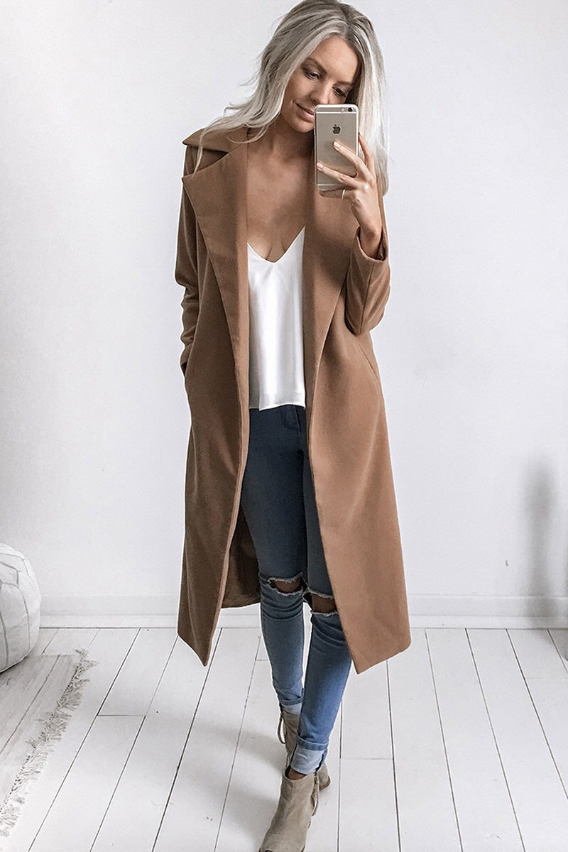 Harlem Coat in Camel - HER Empire Fashion Boutique Terrigal & Online