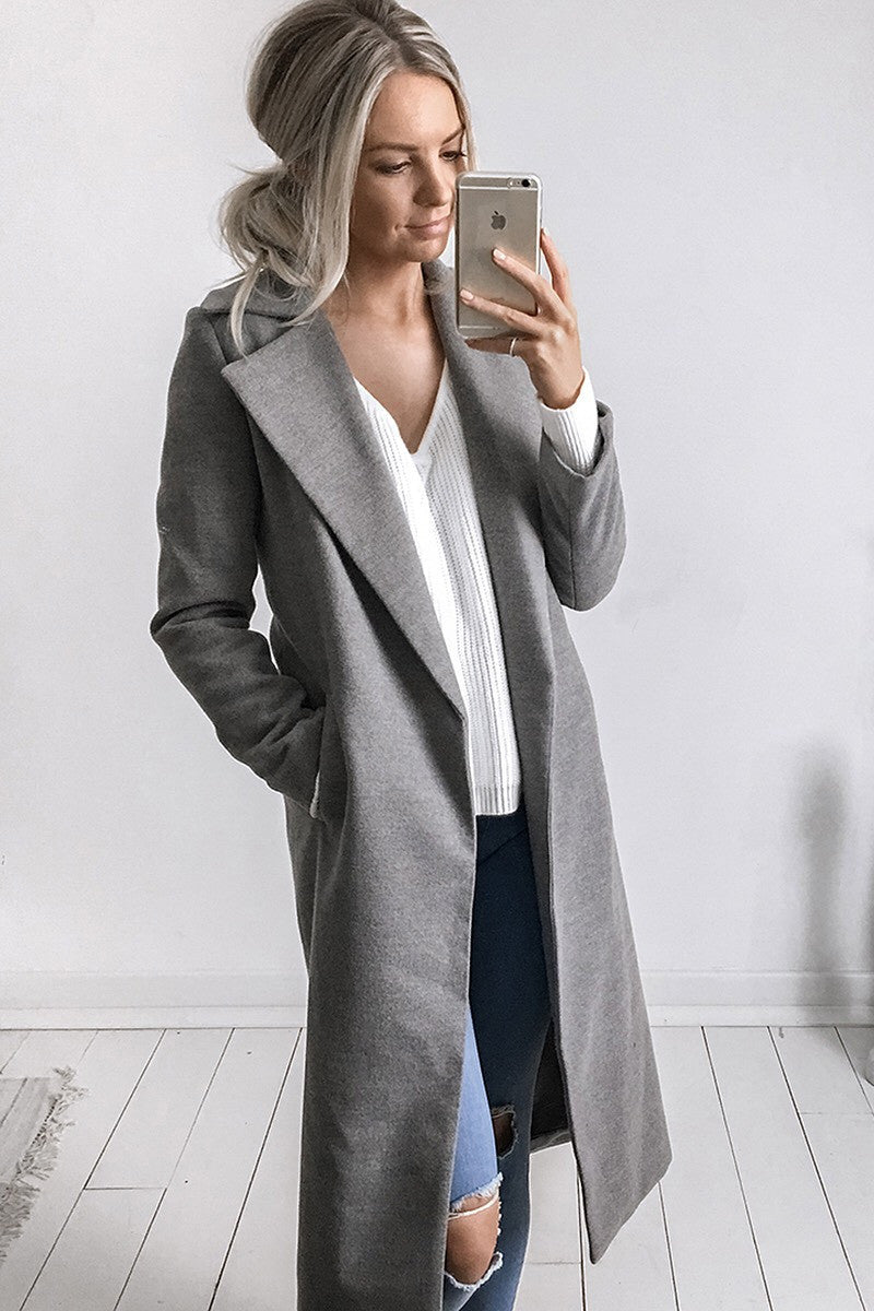 Harlem Coat in Grey