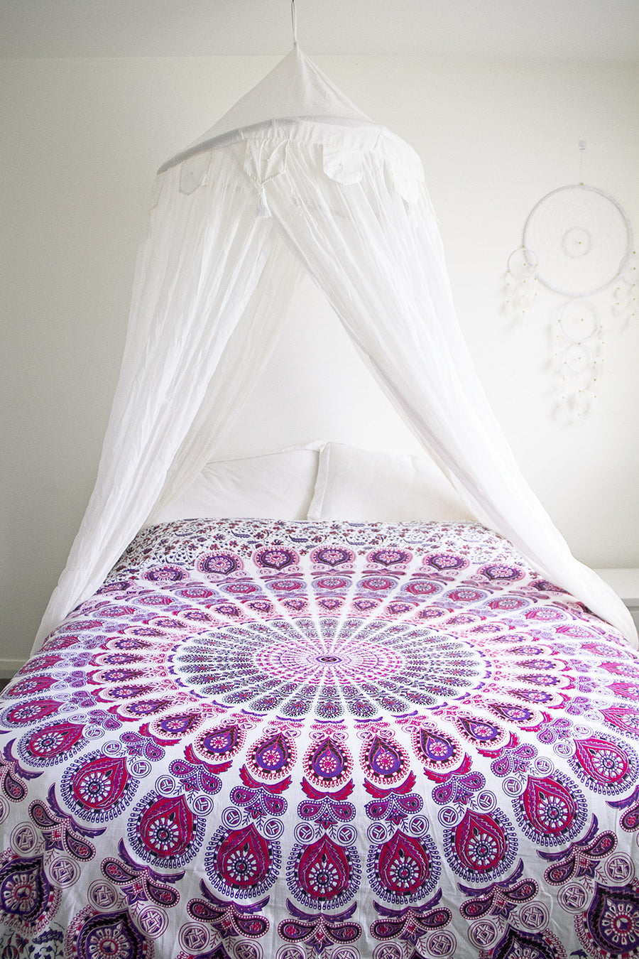 Sunset Mandala Throw