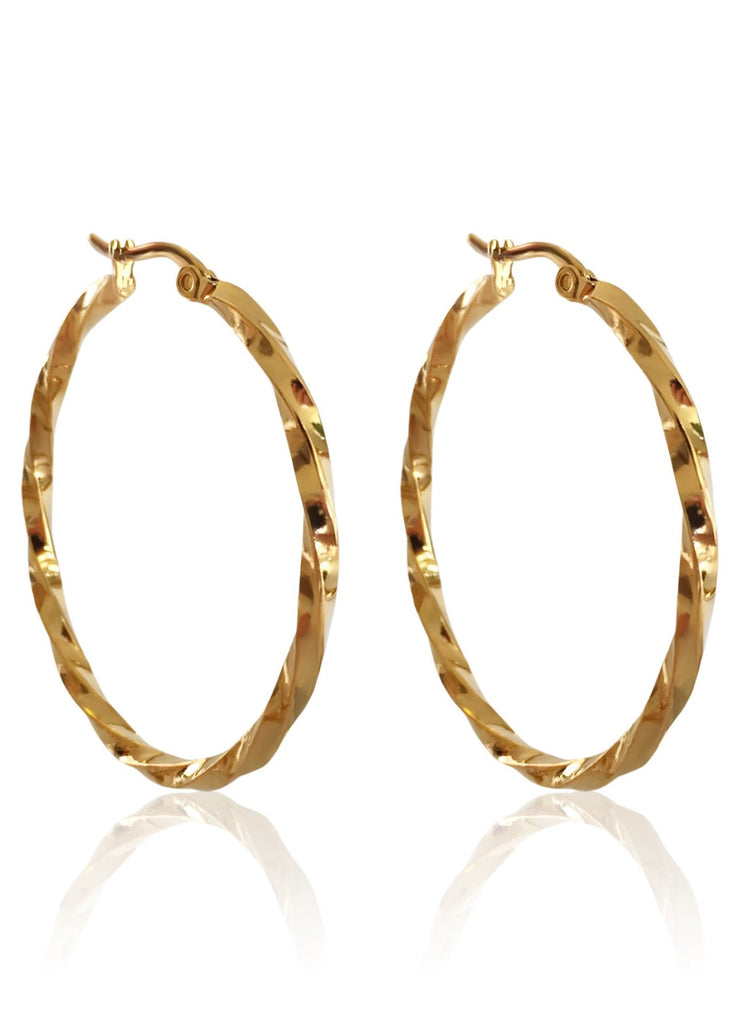Bronte Hoop Earrings - HER Empire Fashion Boutique Terrigal & Online