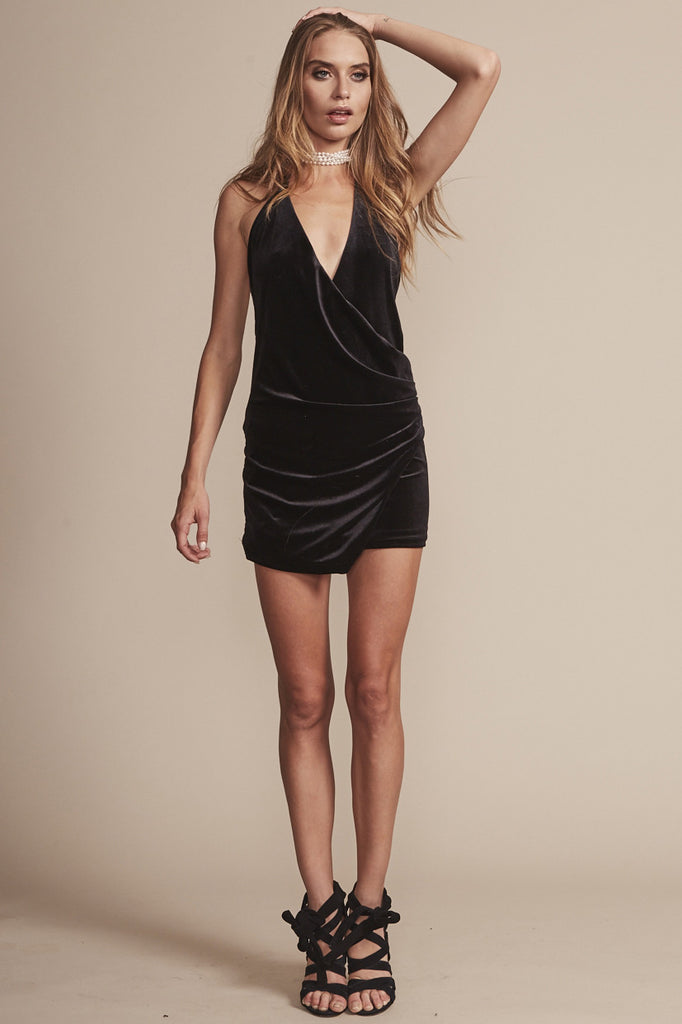 Atlantic City Dress in Black - HER Empire Fashion Boutique Terrigal & Online