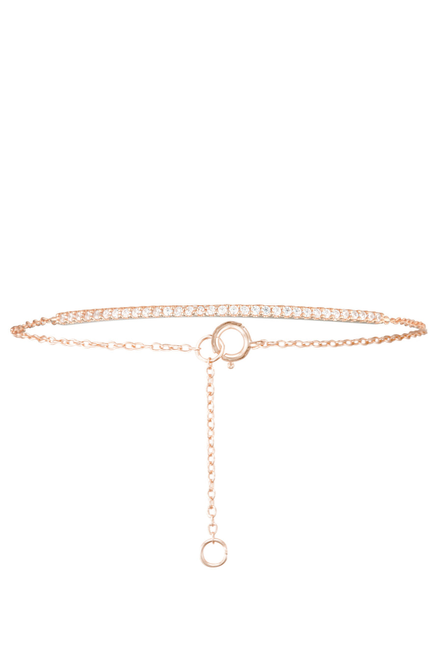 Layla Bracelet in Rose Gold - HER Empire Fashion Boutique Terrigal & Online